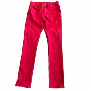 Urban Heritage women's red skinny jeans size 28